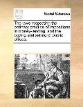 Laws Respecting the Ordinary Practice of Impositions in Money-Lending, and the Buying and Se...