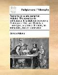 Remarks on a Late Pamphlet, Intituled, the Apostles No Enthusiasts in a Dialogue Between a P...