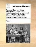 Fables of Æsop and Others, Translated into English with Instructive Applications; and a Prin...