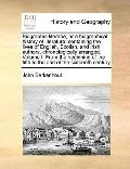 Biographia Literaria; or a Biographical History of Literature : Containing the lives of Engl...