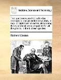 Gardeners Pocket-Calendar, Arranged upon an Entire New Plan, in Regular Alphabetical Order, ...