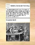 Description and Use of a Case of Mathematical Instruments; Particularly of All the Lines Con...