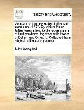 Memoirs of the Revolution in Bengal, Anno Dom 1757 by Which Meer Jaffeir Was Raised to the G...