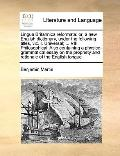 Lingua Britannica Reformat : Or, a new English dictionary, under the following titles, viz. ...