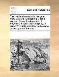 The treble almanack for the year MDCCXCVIII. Containing I. John Watson Stewart's almanack, I...