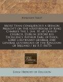 More than conquerour a sermon preach't on the martyrdom of King Charles the I, Jan, 30, at C...