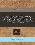 The three books of Hermas the disciple of Paul the Apostle. Viz. I. The church. II. The shee...