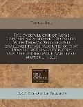 vvoefull crie of Rome Containing a defiance to popery. with Thomas Bells second challenge to...