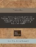 Christian dialogue, betweene Theophilus a deformed Catholike in Rome, and Remigius a reforme...