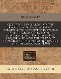 Godfrey of Bulloigne, or the recouerie of Hierusalem an heroicall poeme written in Italian b...