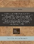 commentarie of M. Doctor Martin Luther upon the Epistle of S. Paule to the Galathians first ...