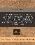 Gutta podrica: a treatise of the gout the severall sorts thereof. VVhat diet Is good for suc...