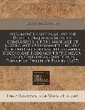 Rodomonths Infernall or the Diuell Conquered Ariastos Conclusions of the Marriage of Rogero ...