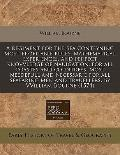 Regiment for the Sea Conteyning Most Profitable Rules, Mathematical Experiences, and Perfect...