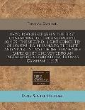 Tvvo Bookes of Ayres the First Contayning Diuine and Morall Songs : The second, light concei...