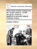 Dissertatio medica inauguralis de variolis insitivis. Quam, ... pro gradu doctoris, ... erud...