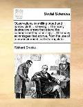 Observations on Milling Broad and Narrow Cloth, Shewing I the Many Destructive Errors That A...