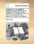 Information for James Blair of Ardblair, and Other Creditors of the Deceased Thomas Hay, Aga...