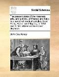 Present State of the Manners, Arts, and Politics, of France and Italy; in a Series of Poetic...