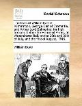 Trials of William Earl of Kilmarnock, George Earl of Cromartie, and Arthur Lord Balmerino, f...