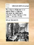 Citizen of the World : Or letters from a Chinese philosopher, residing in London, to his fri...