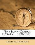 John Crerar Library 1894-1905