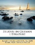 Studies in German Literature