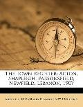 Town Register : Acton, Shapleigh, Parsonsfield, Newfield, Lebanon 1907