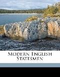 Modern English Statesmen