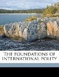 Foundations of International Polity