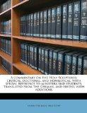 A commentary on the Holy Scriptures; critical, doctrinal, and homiletical. With special refe...