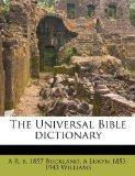 The Universal Bible dictionary