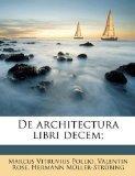 De architectura libri decem; (Latin Edition)