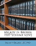 Milady in Brown 1907 Volume V. [IV]