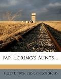 Mr Loring's Aunts