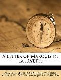 Letter of Marquis de la Fayette