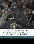 Beginnings of Christianity : Part I, the Acts of the Apostles