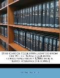 [the Capitol Cook Book Adapted from the White House Cook Book Containing Nearly 1,500 Choice...