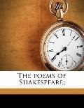 Poems of Shakespeare;