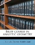 Brief Course in Analytic Geometry