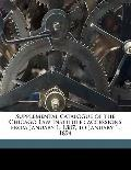 Supplemental Catalogue of the Chicago Law Institute : Accessions from January 1, 1887, to Ja...