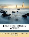 Lord Hobhouse; a Memoir