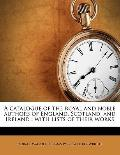 Catalogue of the Royal and Noble Authors of England, Scotland, and Ireland : With lists of t...