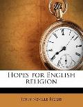 Hopes for English Religion