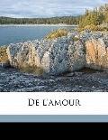 De l'amour (French Edition)