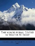 Minor Poems Edited by Walter W Skeat