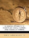 Sunshine [Starlight Scripture Texts, Prayers, and Verses of Hymns