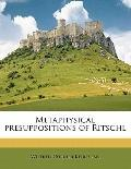 Metaphysical Presuppositions of Ritschl