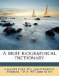 Brief Biographical Dictionary