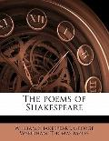 Poems of Shakespeare